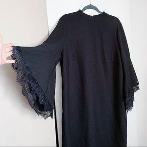 Eloquii Lace Sleeve Dress